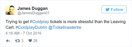 Tweets That Sum Up The Struggle Of Trying To Get A Coldplay - 16 pictures that sum up how you feel about 2016
