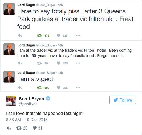 Tweet by @Scott Bryan