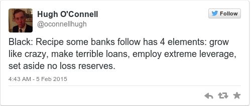 Tweet by @Hugh O'Connell