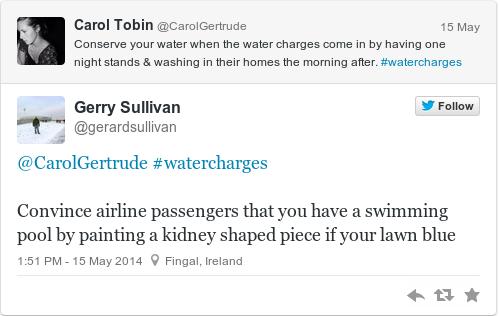 Tweet by @Gerry Sullivan