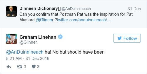 Tweet by @Graham Linehan