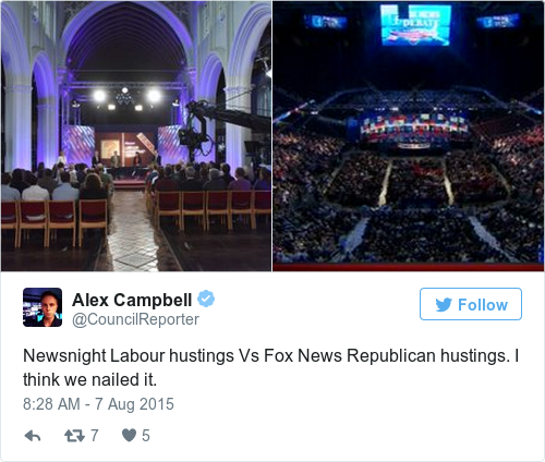 Tweet by @Alex Campbell