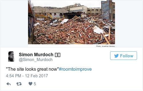 Tweet by @Simon Murdoch 📻📱