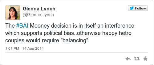 Tweet by @Glenna Lynch