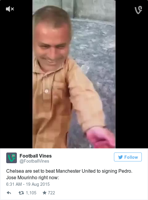 Tweet by @Football Vines