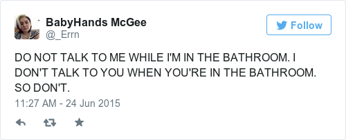 Tweet by @BabyHands McGee