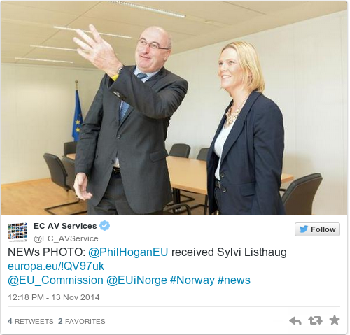 Sylvi Listhaug: Never Mind Water, Big Phil's Having A Ball In Brussels And