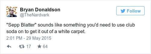 Tweet by @Bryan Donaldson