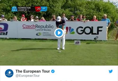 Tweet by @The European Tour