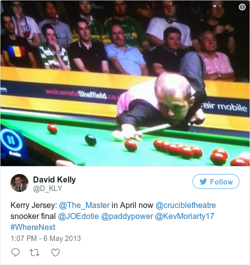 Tweet by @David Kelly