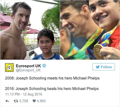 Tweet by @Eurosport UK