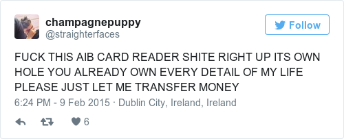 The aib card reader is a tool designed to torture the people of ireland reheart Image collections