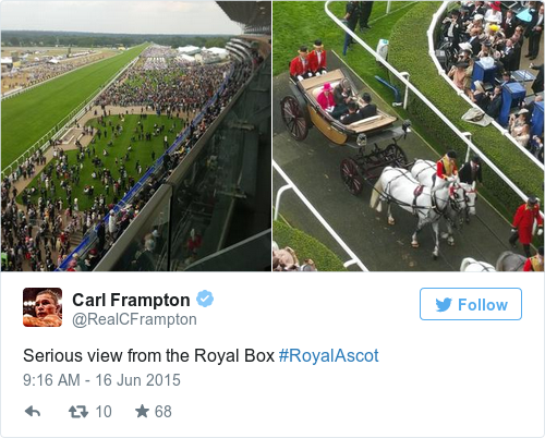 Tweet by @Carl Frampton