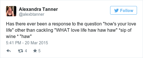 Perfect Responses To Hows The Love Life The Daily Edge - 21 perfect responses to the question hows life