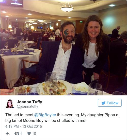 Tweet by @Joanna Tuffy