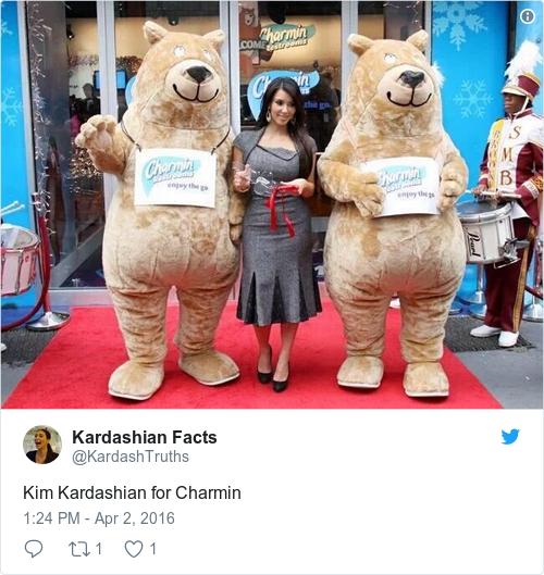 Tweet by @Kardashian Facts