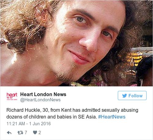 Tweet by @Heart London News