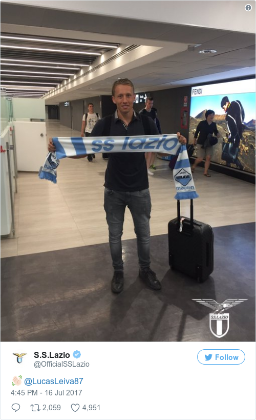 Tweet by @S.S.Lazio