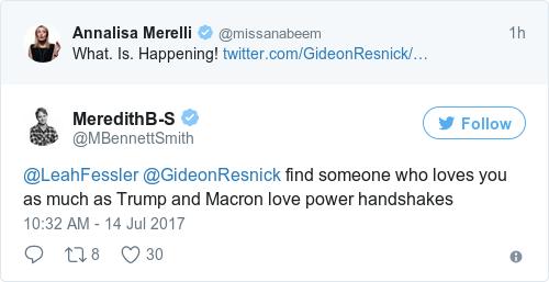 Tweet by @MeredithB-S
