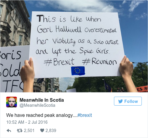 Tweet by @Meanwhile In Scotia
