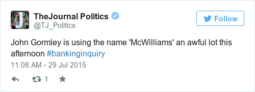 Tweet by @TheJournal Politics