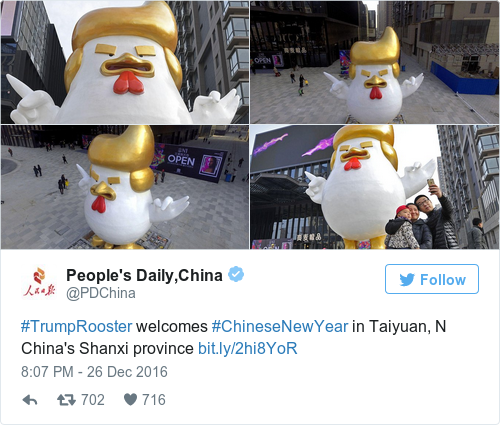 Tweet by @People's Daily,China