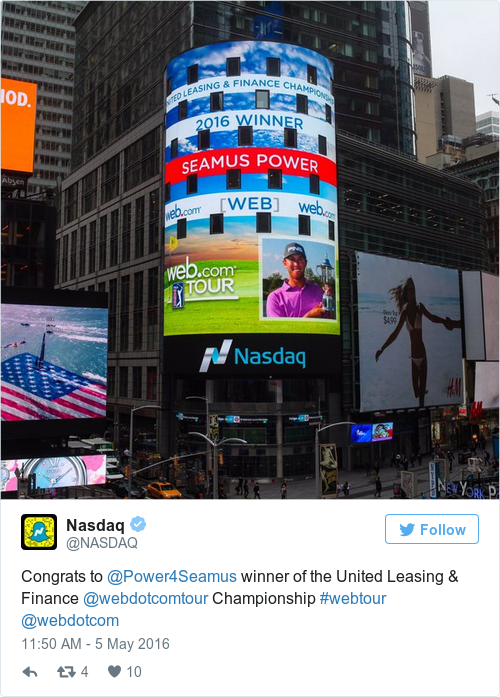 Tweet by @Nasdaq