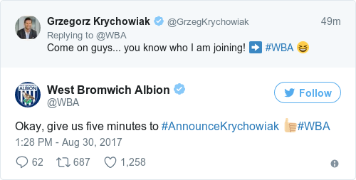 Major coup for West Brom as PSG midfielder Krychowiak arrives on loan
