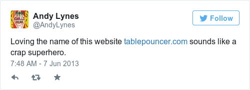 The internet has found the world 39 s most boring superhero for Table pouncer