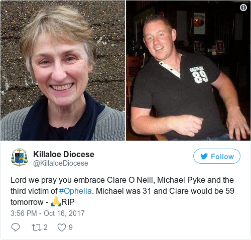 Tweet by @Killaloe Diocese