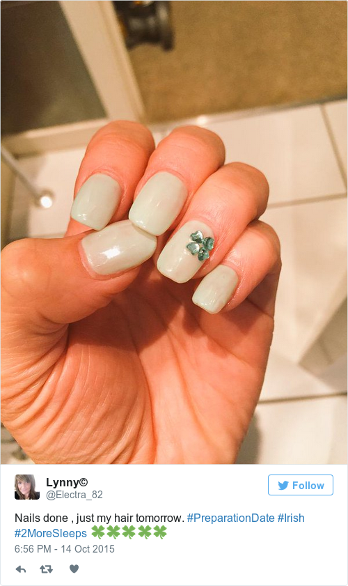 3. It's a nice little way to represent - 15 Creative Pieces Of Nail Art Inspired By Ireland · The Daily Edge