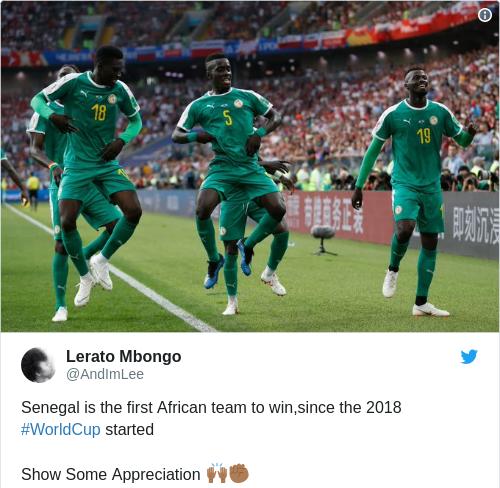 Tweet by @Lerato Mbongo