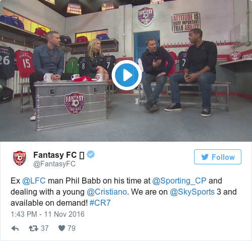 Phil Babb recalls the time he knocked out Cristiano Ronaldo