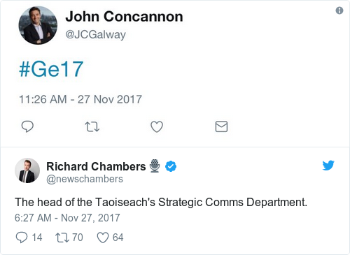 Tweet by @Richard Chambers🎙