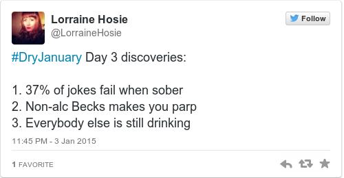Tweet by @Lorraine Hosie