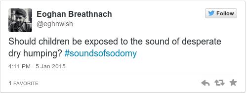 Tweet by @Eoghan Breathnach