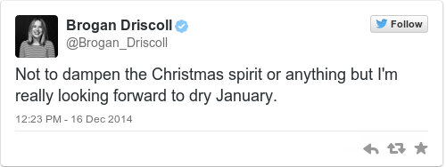 Tweet by @Brogan Driscoll