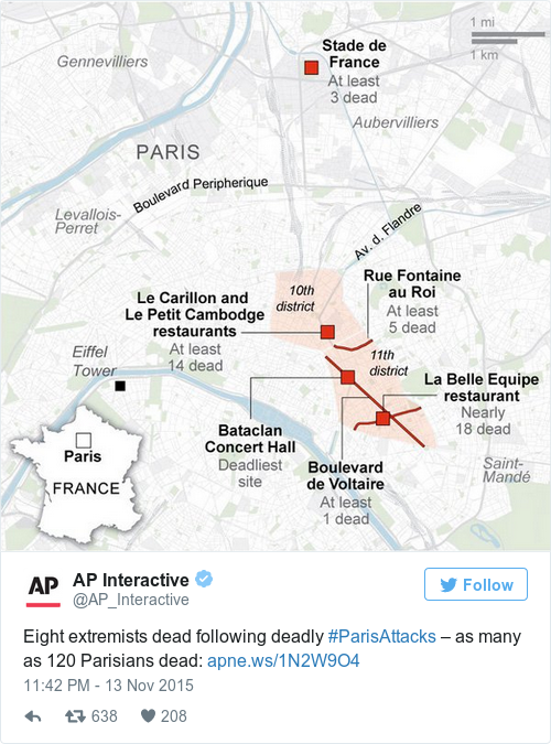 Tweet by @AP Interactive