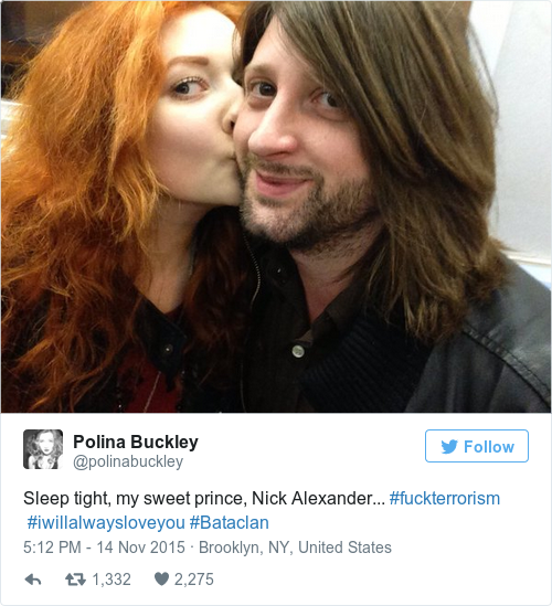 Tweet by @Polina Buckley