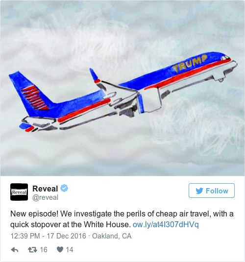 Tweet by @Reveal