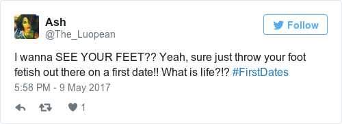Dating a foot fetishist