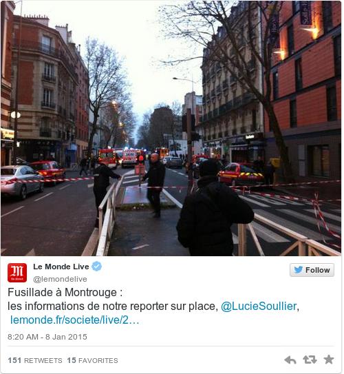 Tweet by @Le Monde Live