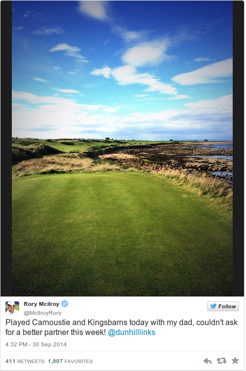 rory mcilroy twitter