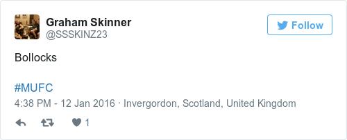 Tweet by @Graham Skinner