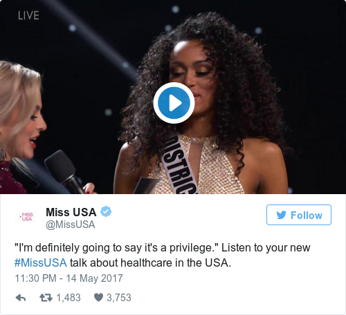 Miss USA 2017: Kara McCullough Crowned as the New Queen