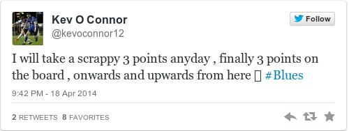 Tweet by @Kev O Connor