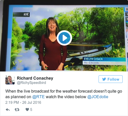 Tweet by @Richard Conachey