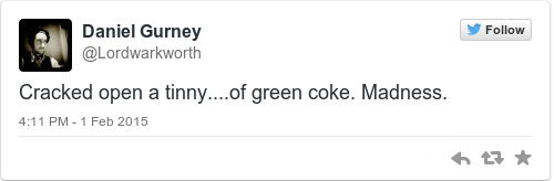Tweet by @Daniel Gurney