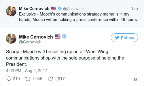 Tweet by @Mike Cernovich 🇺🇸