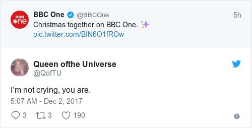 Tweet by @Queen ofthe Universe